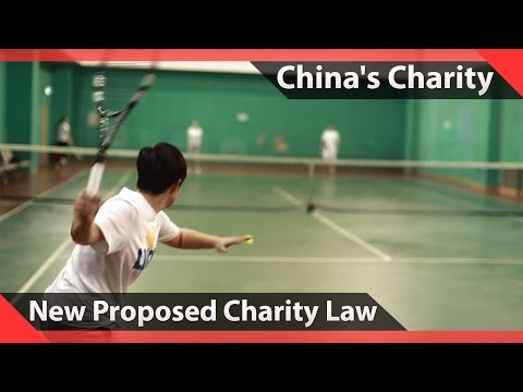 Chinese Tennis Champion on Proposed Charity Law