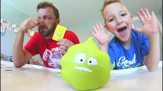Father & Son PLAY GAS OUT! / Don't Toot!