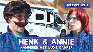 Kamperen in superdeluxe camper!  - KEEPING UP WITH HENK & ANNIE #3