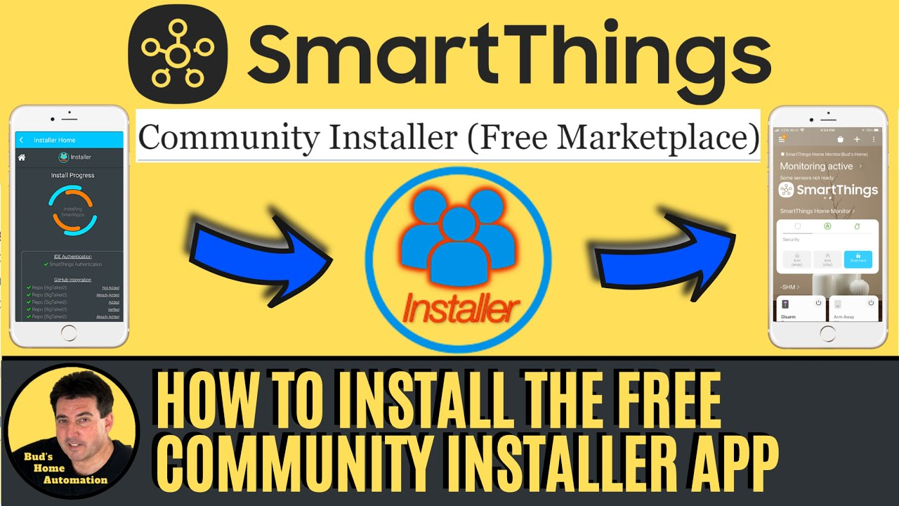 How to Setup the Free SmartThings Community Installer App