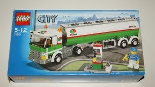 lego city 3180 tank truck in stop motion