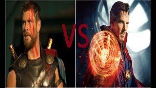 Dr.Strage Vs Thor / EPIC DEATH BATTLE!!!