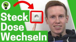 Steckdose anschließen & wechseln ✅ TOP ANLEITUNG: Schuko Steckdosen mit Kabel einbauen & montieren!!