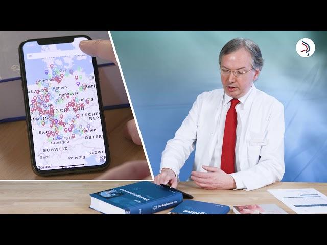 Expertensuche für Kopfschmerzen in Deutschland – Die Migräne-App