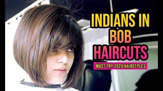 Different Indian Women in Bob Haircuts   2020 short haircut ideas