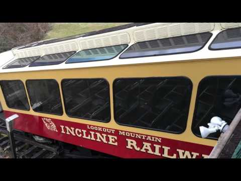 Lookout Mountain Incline Railway POV View, Full Ride - Chattanooga, TN