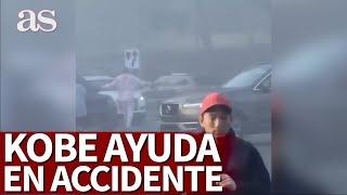 Accidente multitudinario en California y aparece Kobe Bryant: en USA lo tildan de héroe | Diario AS