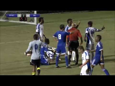 EFSC vs Broward  Men's Soccer 10-17-14