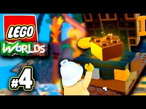 ЛЕГКИЙ ФАРМ СУНДУКОВ   Lego Worlds РЕЛИЗ #4