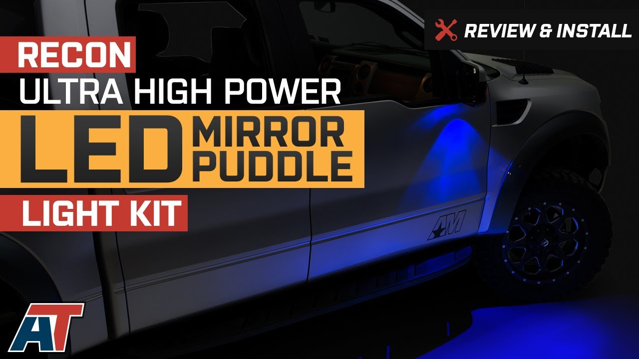 2009 2014 F150 Recon Ultra High Power Led Mirror Puddle