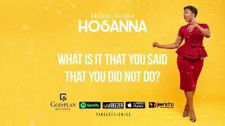 Amanda Malela - Hosanna (Lyrics / Lyrics Video)