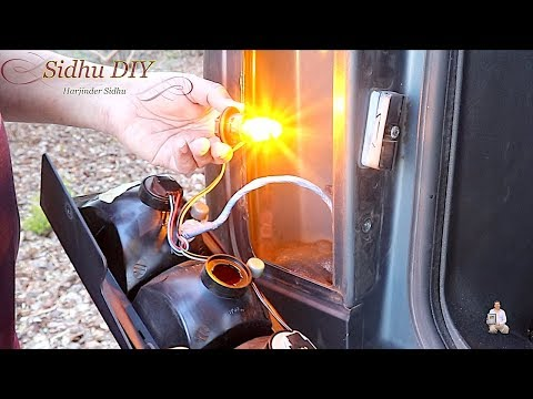 How To Replace, Upgrade HUMMER Signal Lights Bulbs To LED Bulb
