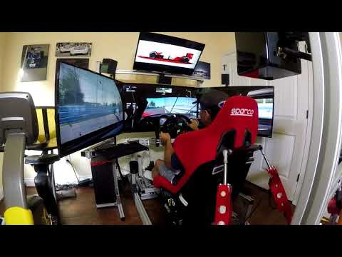80/20 Rig with SimXperience 3DOF Motion and Traction Loss - Sim