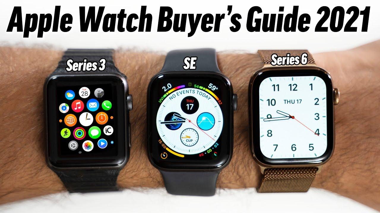 Apple Watch SE vs. Apple Watch Series 7 Buyer's Guide