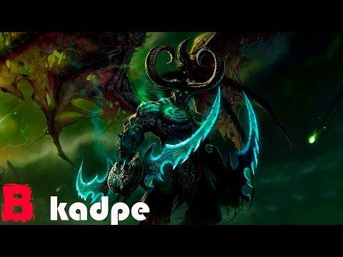 История Иллидана Ярость бури   HOTS Warcraft WoW
