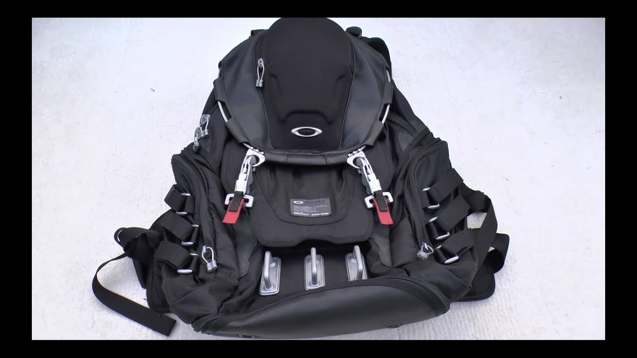 Oakley Kitchen Sink backpack review - YouTube
