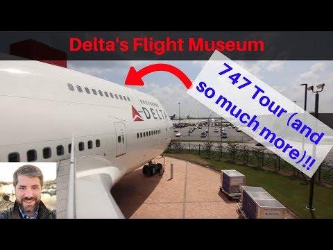 Delta Flight Museum: 747, 767, & Simulator