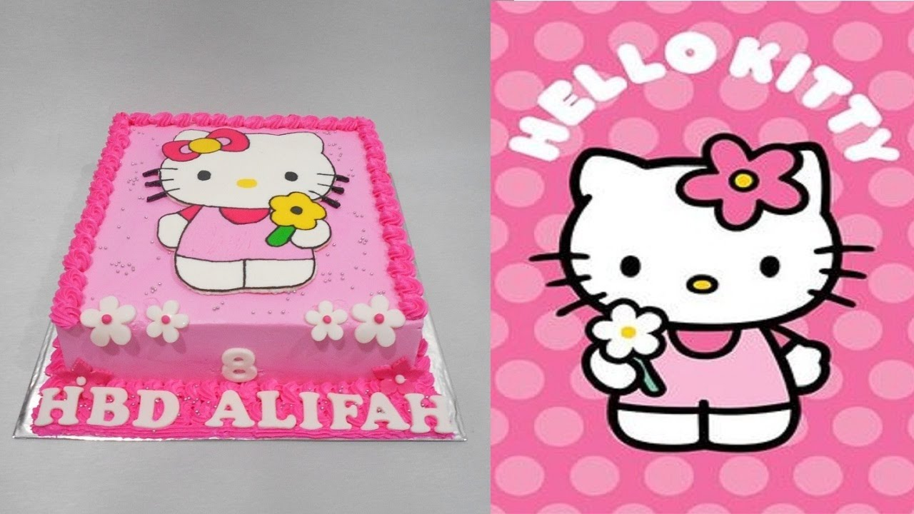 Hello Kitty Cake Birthday Special Youtube