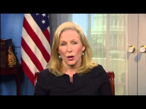 Senator Gillibrand Discusses Her Congressional Delegation To The Middle East