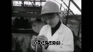 ФИЛЬМ ОЧИСТКА СТОЧНЫХ ВОД ХИМИЧЕСКИХ ПРОИЗВОДСТВ. (1987) Леннаучфильм
