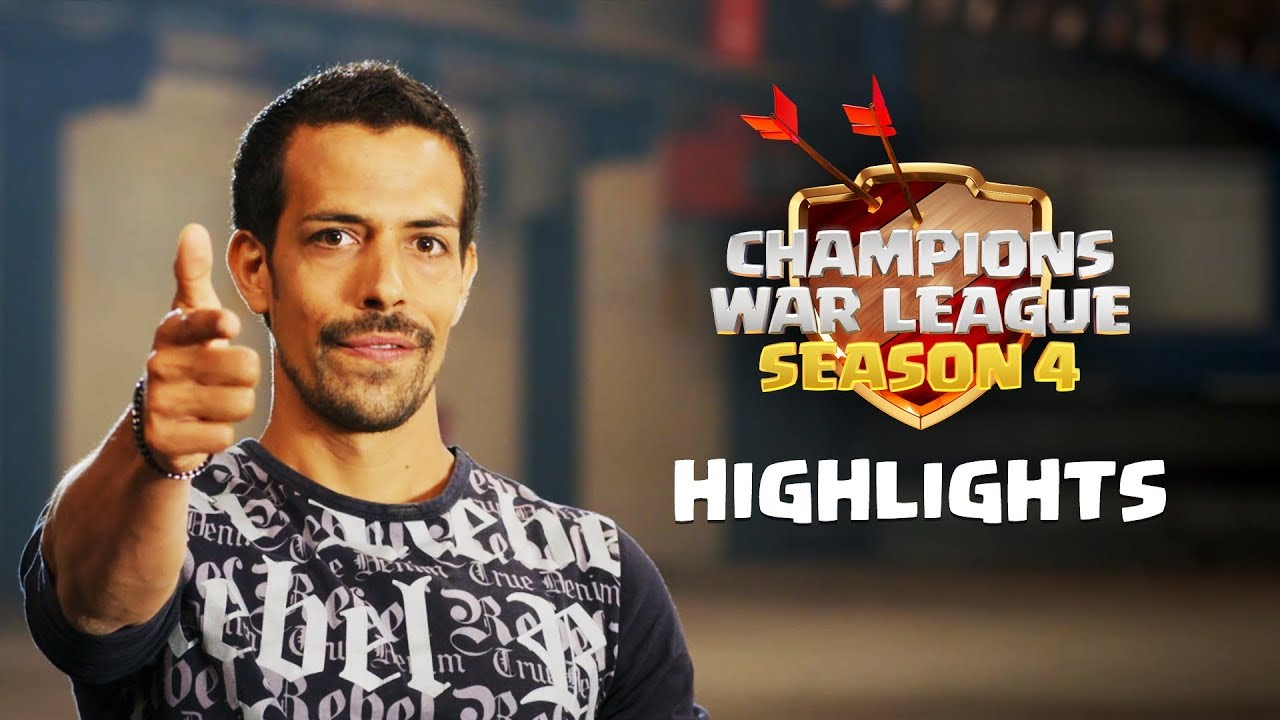 Clash of Clans - Champions War League Season 4 Finals Highlights