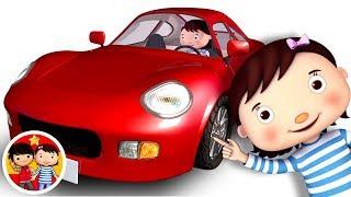 En mi coche me voy | Nanas para bebés | Little Baby Bum - Canciones Infantiles