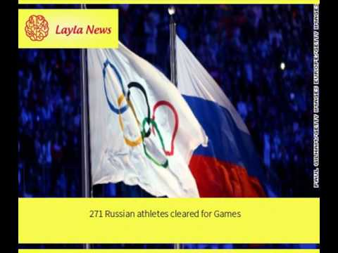 271 Russian athletes cleared for Games |  By : CNN