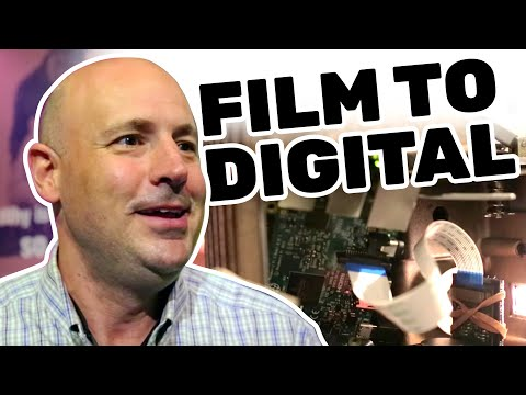Film to Digital Conversion at Maker Faire New York 2016