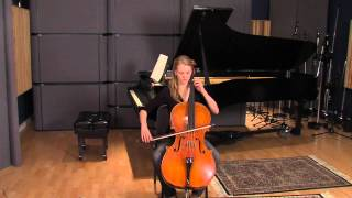Emily Austin Smith plays on a KRUTZ cello.