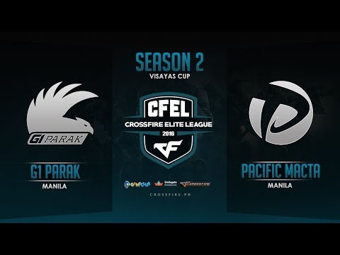G1PARAK vs Pacific.Macta – Crossfire Elite League Mindanao Cup – Round 6 Match 1