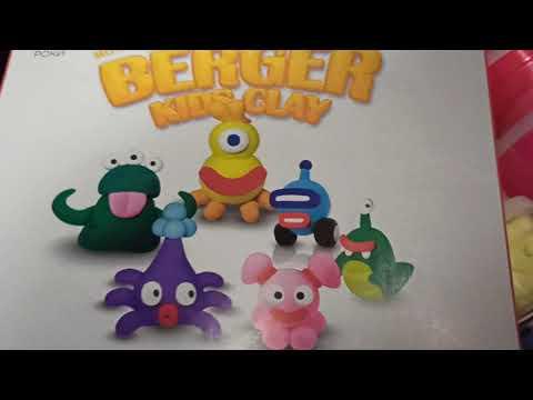 Набор пластилина Berger Kids Clay Монстрики 18 баночек 580 г Разноцветный (Monsters 01-18) (8596165040200) подарок подписка на 1 месяц YOU TV 320+ телеканалов