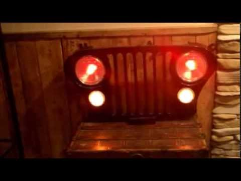 Jeep Cj Grille Wall Hanging Youtube