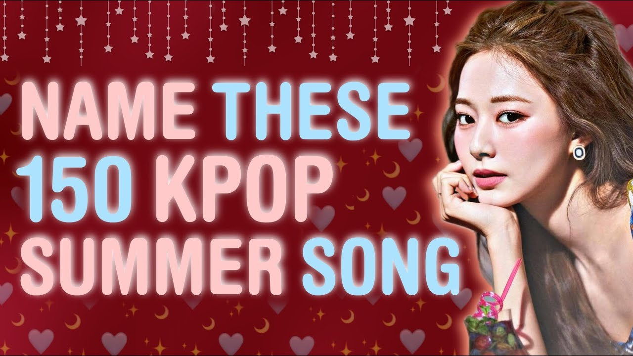 CAN YOU NAME THESE KPOP SUMMER SONG? KPOP SUMMER PLAYLIST! | KPOP GAMES - CHALLENGE