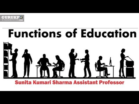 social functions of education