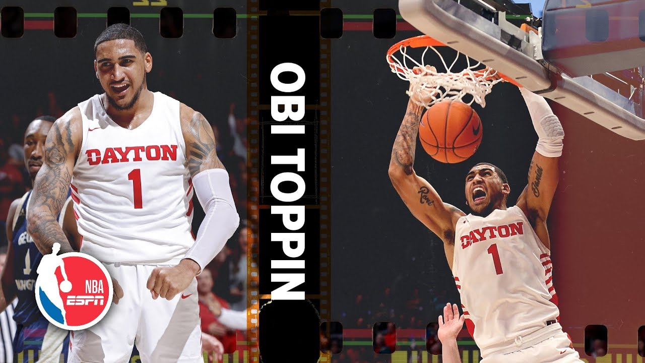 Obi Toppin's Dayton highlights prove he is a top 5 NBA prospect | 2020 NBA  Draft Scouting Report - YouTube