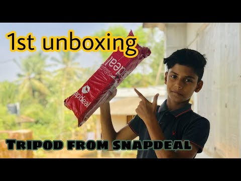 1st UNBOXING TRIPOD From Snapdeal | SNAPDEAL | AJ TECHNICALS MALAYALAM