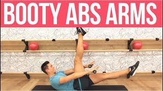 BOOTY ABS & ARMS WORKOUT