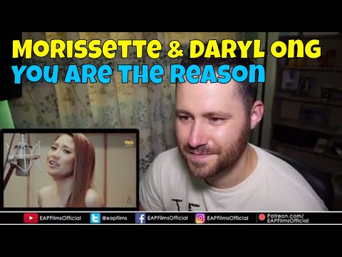 Morissette Amon & Daryl Ong - You Are The Reason | REACTION