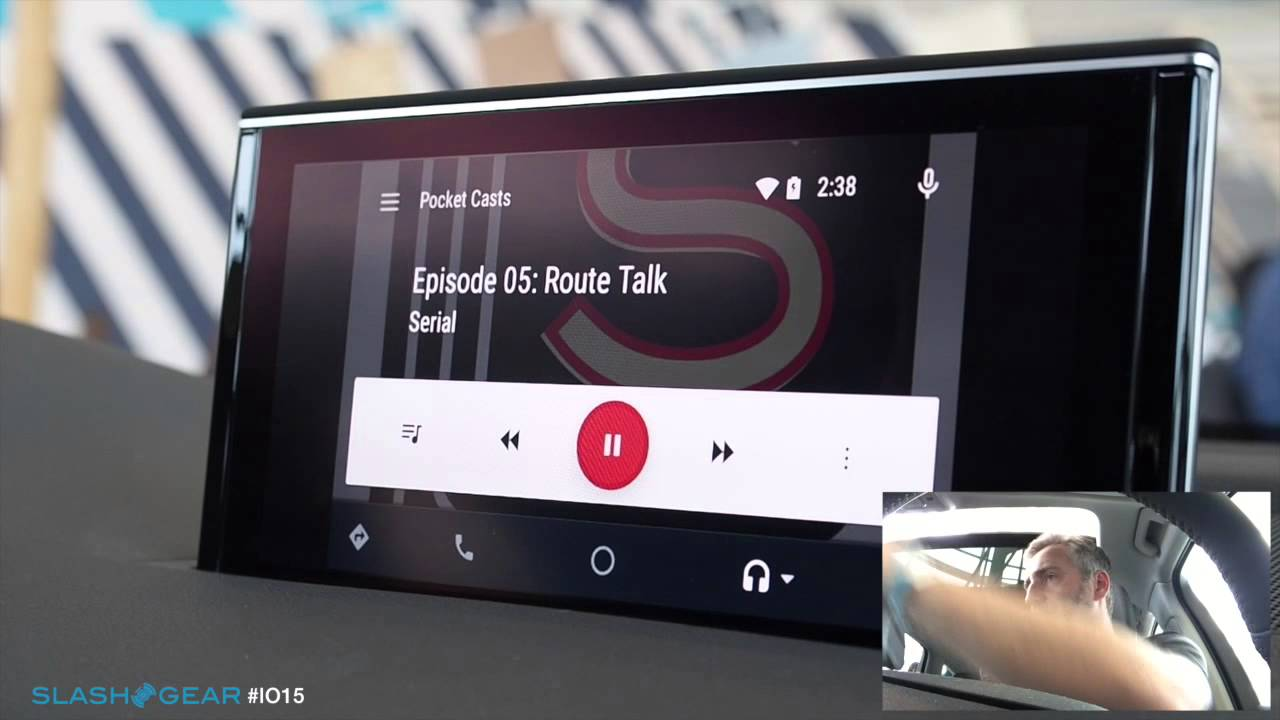 2016 Audi Q7 and Android Auto hands on demo at #IO15