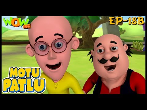 Kids Cartoon  Motu Patlu In Hindi  Kids s  Animated Series  Ep -18B  Wow Kidz
