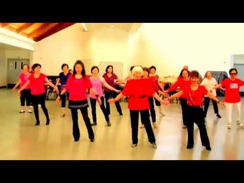 DN Waltz - Line Dance (walk Through)