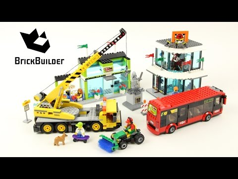 Lego City 60026 Town Square - Lego Speed Build