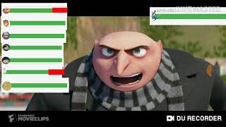 Despicable Me 3 Final Battle With Healthbars