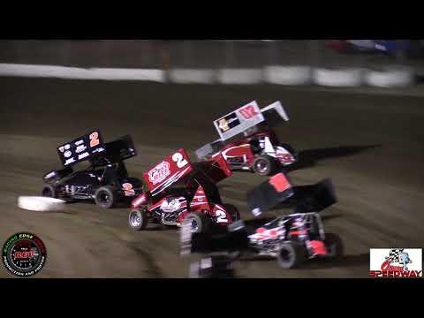 9-22-17 Ocean Speedway 360 Sprint Cars