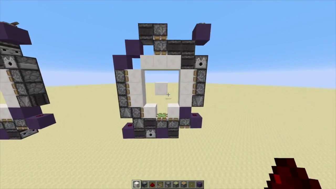 Smallest 1 Wide Compact 3x3 Piston Door 1 11 Youtube