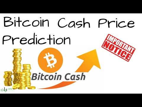 BITCOIN CASH (BCH) PRICE PREDICTION - IMPORTANT!!!