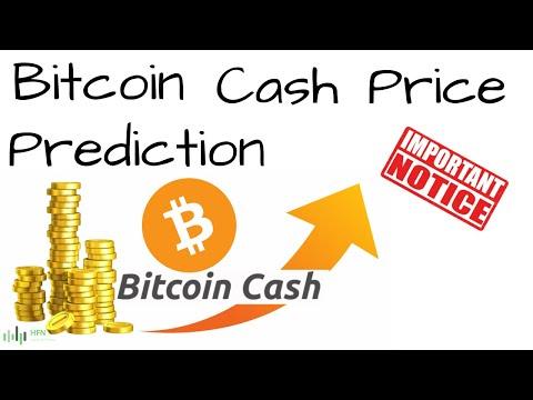 BITCOIN CASH (BCH) PRICE PREDICTION - IMPORTANT!!!