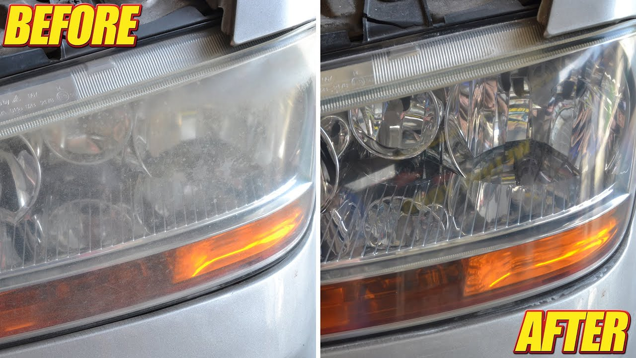 Come pulire i fari dell'auto opacizzati con il ...
