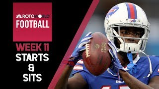 Fantasy Football news, Week 11 starts and sits, and TNF preview | Rotoworld Football Podcast
