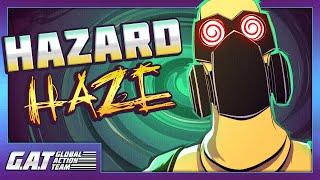 HOT LAVA | G. A. T. Cartoon - Hazard-Haze